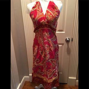 NWOT Sangria brand halter dress